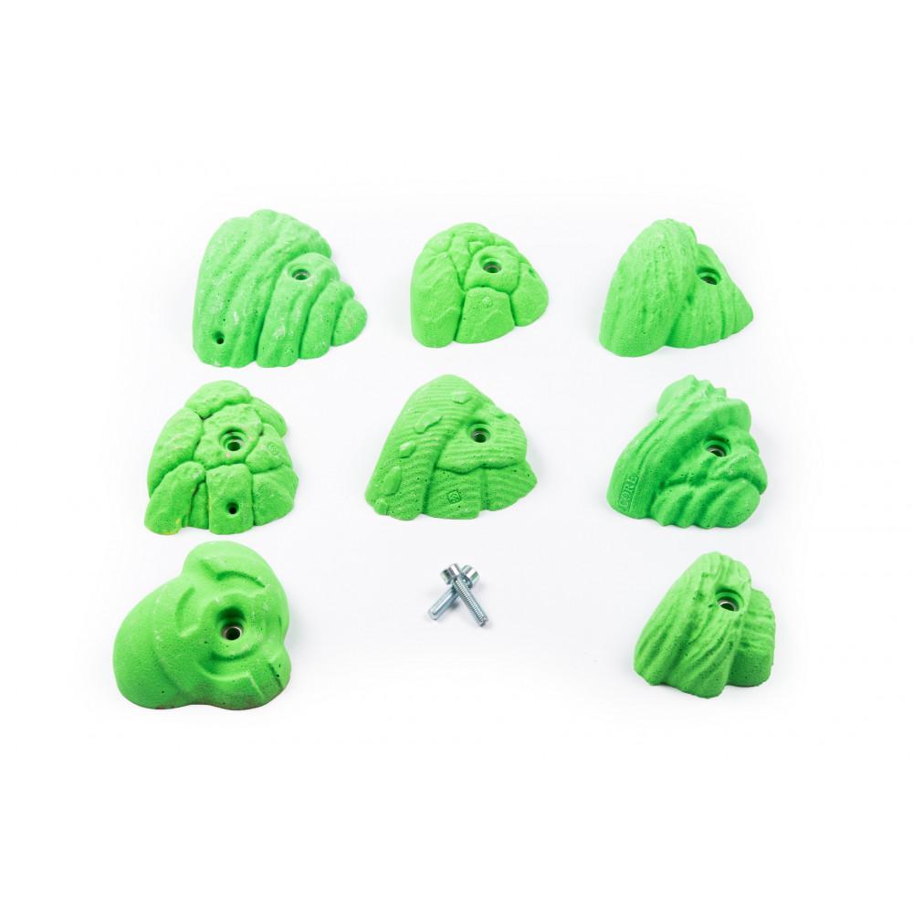 Pack Vert Fluo 4FLG05 / 8 prises