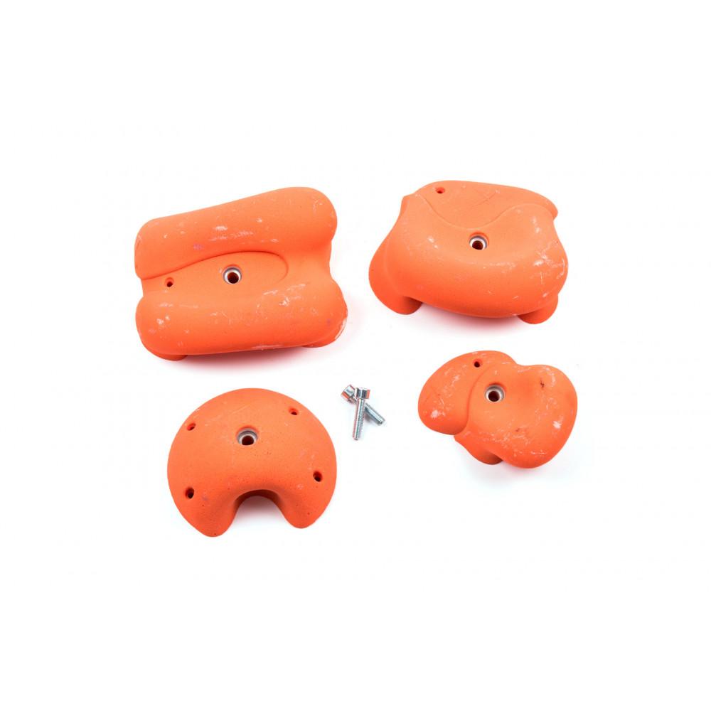 Pack Fluo Orange 034FLOPE02 / 4 prises